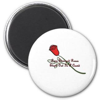 Long Stemmed Roses Refrigerator Magnet