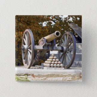 Long Street Memorial Gettysburg 15 Cm Square Badge