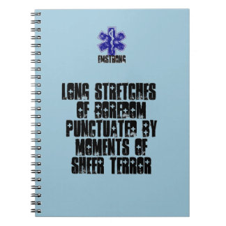 Long Stretches Of Boredom Moments Of Terror Notebooks