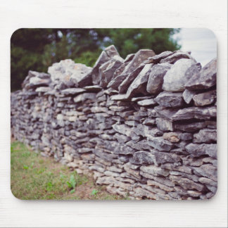 long sturdy stacked stones mouse pad