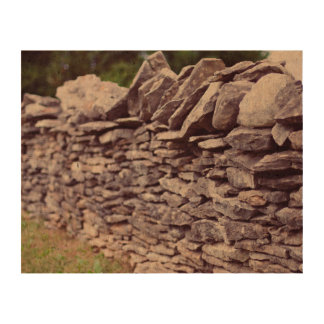 long sturdy stacked stones cork paper prints