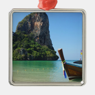 long tail boat in thailand christmas ornament