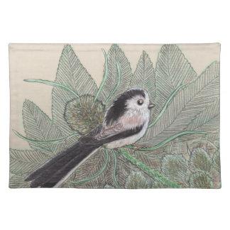 Long Tailed Bird Placemat