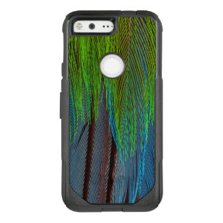 Long-Tailed Broadbill Feather Abstract OtterBox Commuter Google Pixel Case