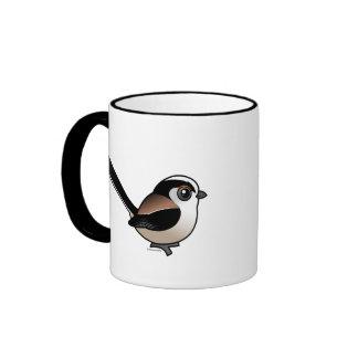 Long-tailed Tit Ringer Coffee Mug