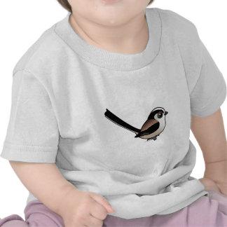 Long-tailed Tit T-shirts