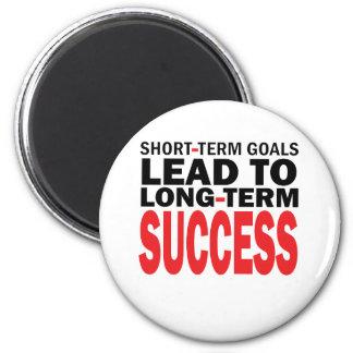 LONG TERM SUCCESS 6 CM ROUND MAGNET
