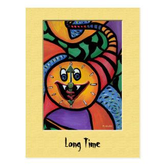 LoNg TiMe Colorful Postcard