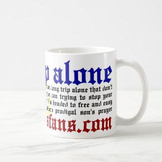 Long Trip Alone Basic White Mug
