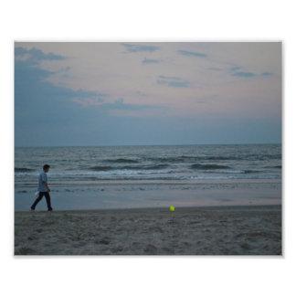 Long walks on the beach photo