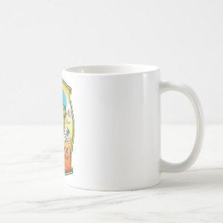 Longboard Creme de Coconut Coffee Mugs
