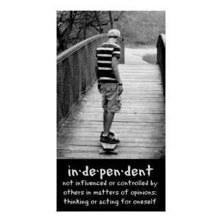Longboarding Independence Posters