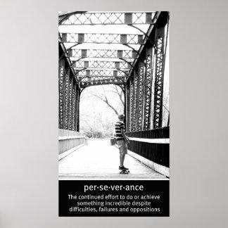 Longboarding Perseverance Posters