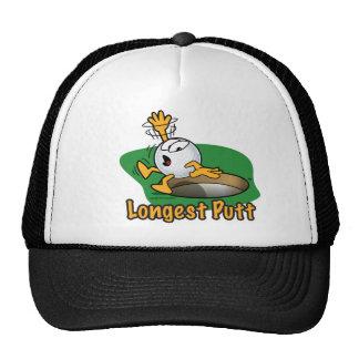 Longest Putt Winner Hole Prize Cap