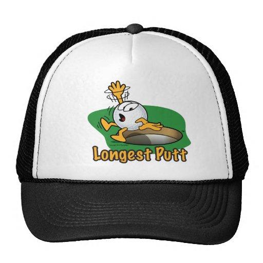 Longest Putt Winner Hole Prize Mesh Hat