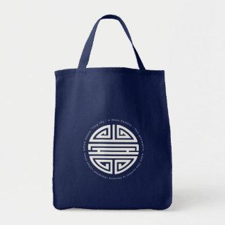 Longevity Symbol Bags