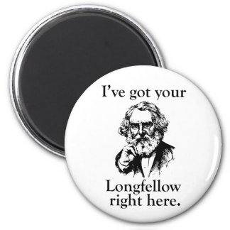 Longfellow 6 Cm Round Magnet