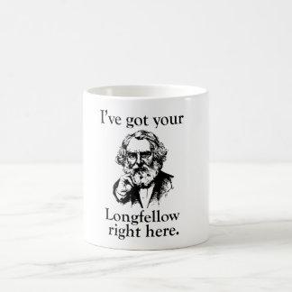 Longfellow Basic White Mug