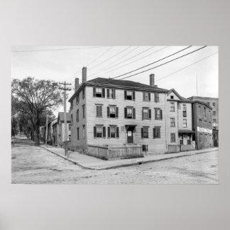 Longfellow Birthplace Poster