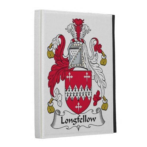 Longfellow Family Crest iPad Folio Case