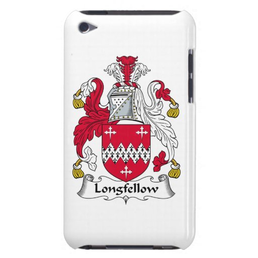 Longfellow Family Crest Barely There iPod Covers