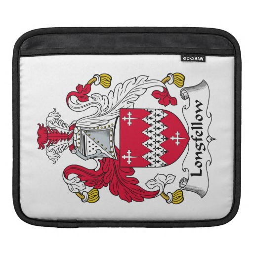 Longfellow Family Crest Sleeve For iPads