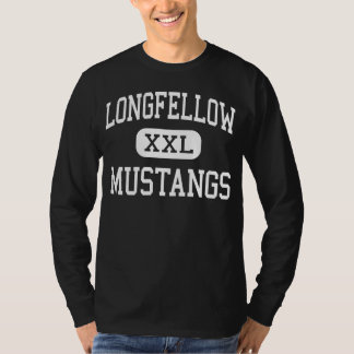 Longfellow - Mustangs - Junior - Enid Oklahoma T-Shirt