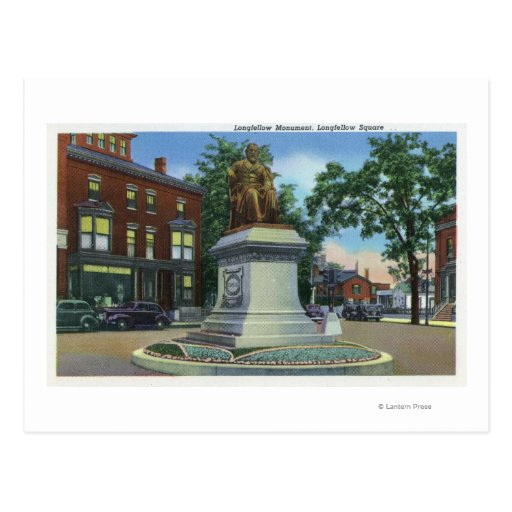 Longfellow Square View of the Longfellow Post Cards