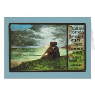 Longfellow's Heart-The Seas Hath It's Pearls Card