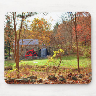 LONGFELLOW'S WAYSIDE GRIST MILL MOUSE PAD