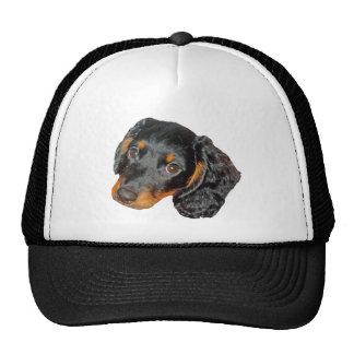 Longhair Dachshund Gift Trucker Hat