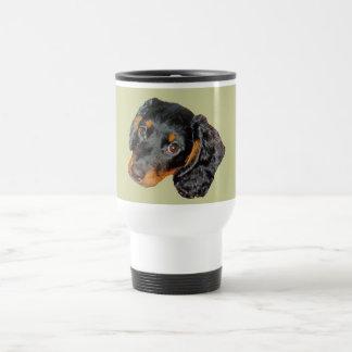 Longhair Dachshund Gift Coffee Mug