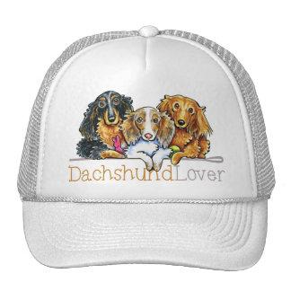 Longhaired Dachshund Lover Mesh Hat