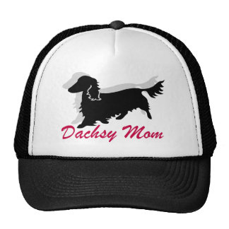 Longhaired Dachshund Mom Hats
