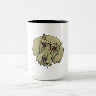 Longhaired Dachshund Coffee Mugs