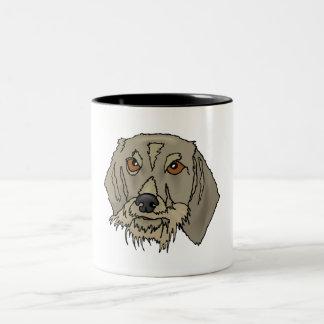 Longhaired Dachshund Coffee Mug
