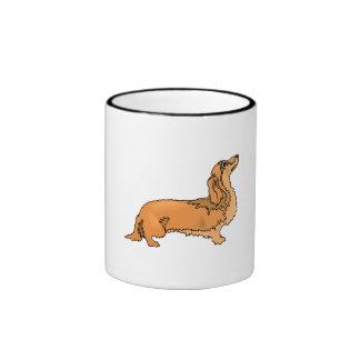 Longhaired Dachshund Mugs