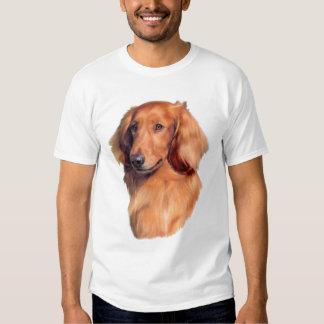 Longhaired Dachshund Tshirts