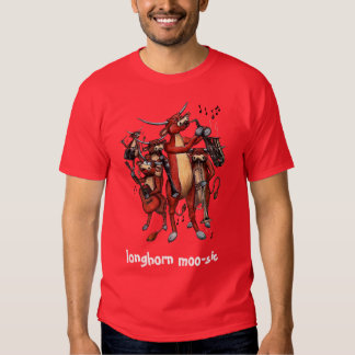 longhorn moo-sic #2 tees