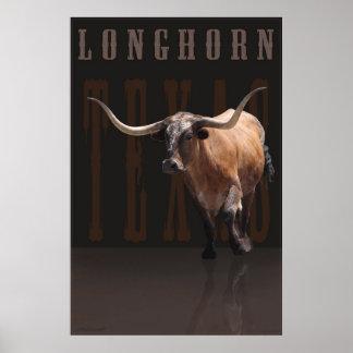 Longhorn Power Poster w/Text