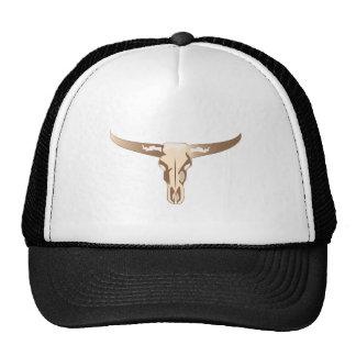 Longhorn Skull Cap