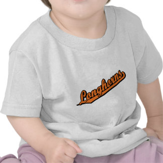 Longhorns in Orange Tee Shirts