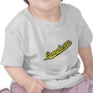 Longhorns in Yellow Tee Shirt