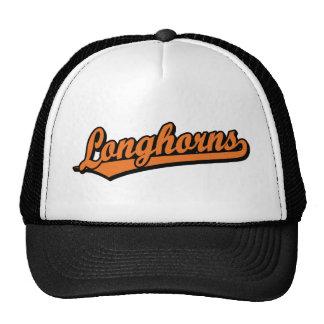 Longhorns  script logo in orange cap
