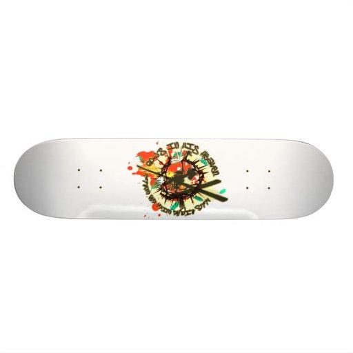 Longinuslanze Custom Skateboard