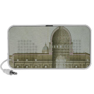 Longitudinal Cross-Section of St. Peter's in Rome, iPod Speakers