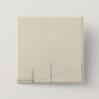 Longitudinal Vertical Projection III Comstock Lode 15 Cm Square Badge