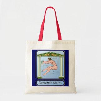 Longjump winner tote bag