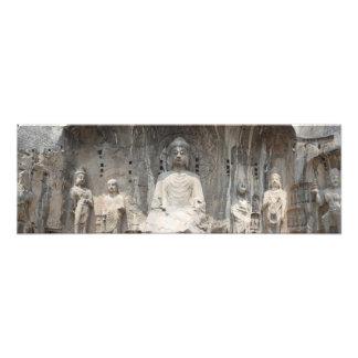 Longmen Grottoes Panoramic Shot Photographic Print