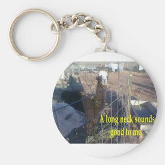 Longneck 1 key chain